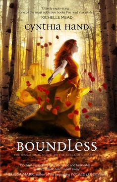 Boundless by Cynthia Hand - Book 3 of the Unearthly series Ya Books, I Love Books, Good Books, Books To Read, Library Books, Book Cover Art, Book Cover Design, Book Art, Beautiful Book Covers