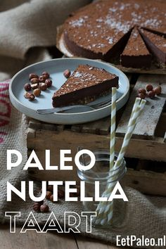 Paleo Nutella Taart www.eetpaleo.nl