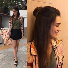 Rabtaa style file: Kriti Sanon embraces fresh trends for her promotional looks | PINKVILLA