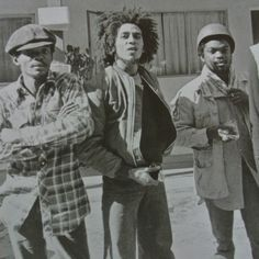 *The Wailers* Bob Marley & The Barrett Brothers, 1973. More fantastic pictures, music and videos of *Bob Marley & The Wailers* on: https://de.pinterest.com/ReggaeHeart/