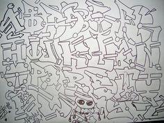 Graffiti Alphabet Letters 1 Set