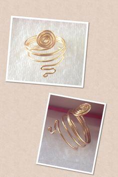 anillo espiral grande $70, (si el tama;o del anillo es menor su costo baja de $70 a $40 )