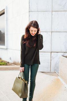 All Green - Dallas Wardrobe