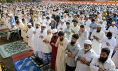 In Photos: People from across the country celebrate Eid-ul-Zuha. Images: PTI.