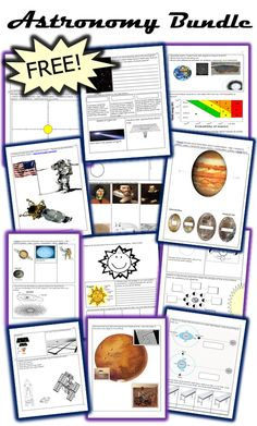 This is the FREE 22 Page bundled homework package that chronologically follows my Astronomy Unit that I offer on TpT. This homework bundle includes many short answer questions, draws upon student research, includes fill in the blanks, completes diagrams, games, and more. Also included is the answer key page and generous unit preview. -Enjoy!