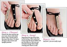 How Convertibles Footwear work!