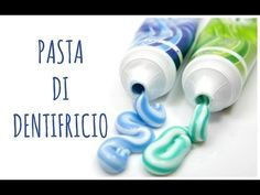 PASTA (modellabile) DI DENTIFRICIO, facilissma e bellissima! (Paste Modellabili)Arte per Te - YouTube