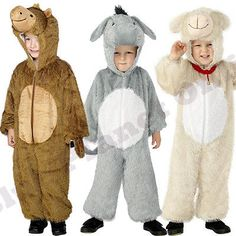 Childrens kids boys #girls nativity play animal fancy #dress #costume christmas,  View more on the LINK: http://www.zeppy.io/product/gb/2/151877011523/