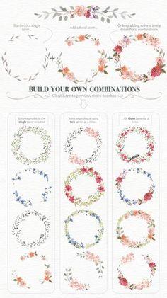 Flores coronas