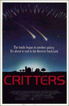 "Cartel película ""Critters"" 1986"