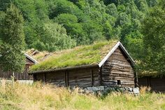 Old cottages, Lovatnet Lake, Olden, Norway - source http://vacationrentals.bg/old-cottages-lovatnet-lake-olden-norway/  by  #condo #chalets #cottage