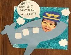 Airplane craft ideas for preschooler and kindergartner