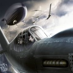 """Is there a better dieselpunk movie?  Not that I've seen!  """"Sky Captain And The…"""