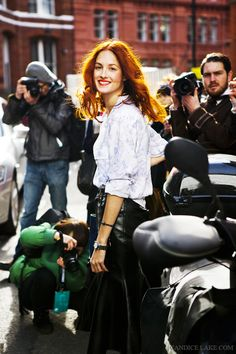 Taylor Tomasi Hill, London FW. Photography by Candice Lake.