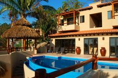 Villa Sweetwater - San Pancho, Mexico - Ocean view 6 bedroom villa - For information and reservations click here: http://www.sanpanchorentals.com/6plusbedroom/villa_sweetwater.html