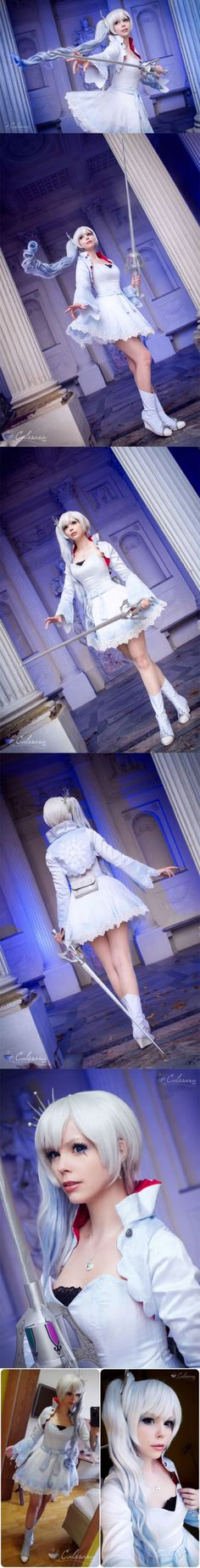 Cosplay Manga Costume RWBY - Weiss Schnee by Bell (Calssara) - More memes, funny videos and pics on Rwby Cosplay, Cosplay Outfits, Cosplay Girls, Cosplay Costumes, Cosplay Ideas, Amazing Cosplay, Best Cosplay, Real Anime, Cosplay Tutorial