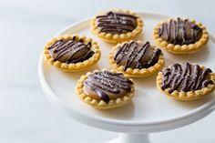 Mini Salted Caramel Chocolate Pies Recipe on Yummly. @yummly #recipe