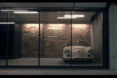 Porsche in the garage Man Cave Garage, Garage House, Car Garage, Garage Office, Garage Studio, Garage Art, Garage Lighting, Interior Lighting, Lighting Ideas