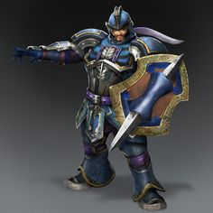 Cao Ren & Weapon (Wei Forces)