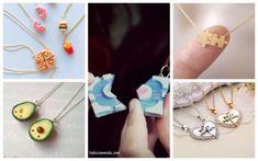 Veja preços e onde comprar colar da amizade, e inspire-se com modelos lindos - 2, 3, 4, 5 ou mais partes; de coração; divertidos; Yin Yang, de comida. Yin Yang, Drop Earrings, Jewelry, Mobile Wallpaper, Pendants, Friendship, Necklaces, Party, Role Models