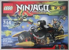 LEGO Ninjago 70733 Blaster Bike 100 Complete Build for sale online Ninjago Lego Sets, Lego Sets For Sale, Lego Juniors, Fox Dog, Hobby Toys, Monkey King, Cool Lego Creations, Ghostbusters, Toy Sale