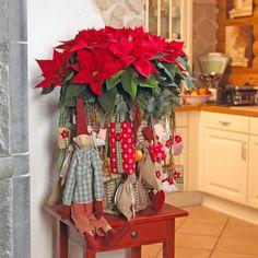 Stars for Europe navidad nórdica flor de pascua estrella de Navidad diy decoración navideña decoración navidad decoración interiores Calendarios de adviento con poinsettias blog decoración nórdica