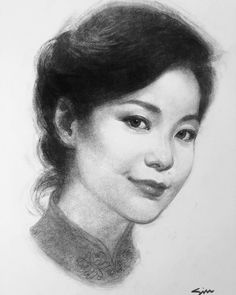 25 Years Ago Today, Teresa Teng, Drawing Process, Passed Away, Suddenly, Sketches, Singer, Drawings, Asthma