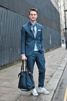 Tips From Fashion Insiders on How to Wear Sneakers With a Suit - NYTimes.com