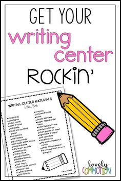 Is your writing center the least favorite center in your preschool classroom? You need to spice it up! Get tips and a free printable to get your writing center rockin'!