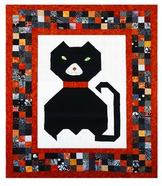Customize to make your favorite pet. The Purrrrfect Quilt Pattern PRL-103 by PRL Quilts - Joyce Riley.  Check out our seasonal patterns. https://www.pinterest.com/quiltwomancom/seasonal-patterns/  Subscribe to our mailing list for updates on new patterns and sales! http://visitor.constantcontact.com/manage/optin?v=001nInsvTYVCuDEFMt6NnF5AZm5OdNtzij2ua4k-qgFIzX6B22GyGeBWSrTG2Of_W0RDlB-QaVpNqTrhbz9y39jbLrD2dlEPkoHf_P3E6E5nBNVQNAEUs-xVA%3D%3D