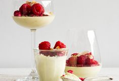 Lime and Coconut White Chocolate Mousse