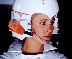 Erin Gray as Wilma Deering in the Buck Rogers in the 25th Century TV series.