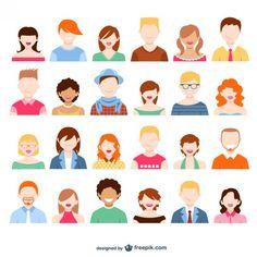 User-avatars-pack - Freepik-People - Pin-55