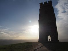 Sunset from #Glastonbury #Tor https://fromsunnydaycafe130.files.wordpress.com/2015/02/p1300115.jpg #グラストンベリー #パワースポット #イギリス旅行