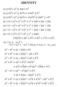 Education Discover - Math Vocabulary Maths Algebra Math Formula Chart Algebra Formulas Les Mathes Logic Math Math Genius Physics And Mathematics College Math Gcse Math, Maths Algebra, Math Math, Calculus, Math Formula Chart, Caste Heaven, Logic Math, Math Tutorials, College Math