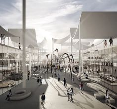 TEAM730 reinterprets the traditional shopping street for MOLEWA competition
