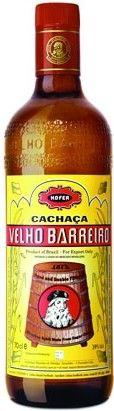 Velho Barreiro Cachaca Bottle