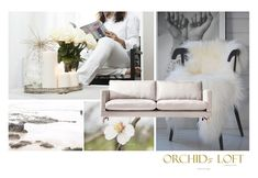 Orchids loft: Sofa OFF WHITE