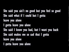 Young Jeezy Ft. Ne-yo - Leave You Alone Lyrics