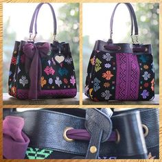 songket bali in fame bag