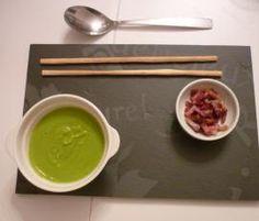 Recette Velouté de petits pois par helene et francois - recette de la catégorie Soupes