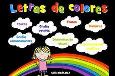 """""""Letras de colores"""" es un proyecto para el desarrollo de la Lectoescritura en 3, 4 y 5 años, además de impulsar el uso de las nuevas tecnologías en la Educación Infantil."""