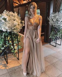Customizing Luxury Beaded Prom Dress Sexy V Neck Tulle Gold Appliques Crystal High Split Formal Evening Dresses Custom Party Gowns sold by reallone. Shop more products from reallone on Storenvy, the home of independent small businesses all over the world. V Neck Prom Dresses, Beaded Prom Dress, Prom Dresses Online, Cheap Prom Dresses, Tulle Dress, Evening Dresses, Formal Dresses, Dress Online, Prom Gowns