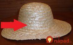 Úžasné, ako perfektne môžete využiť obyčajný starý klobúk!