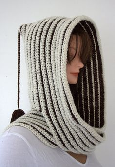 Hooded Scarf by SweetNothingsStitch on Etsy, $25.00