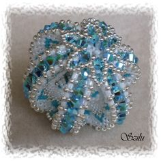 Beaded Bead lovely inspiration Sfera Divinity Szilu: