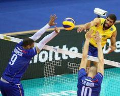Blog Esportivo do Suíço:  Brasil se vinga da França e encara Sérvia por 10º título da Liga Mundial