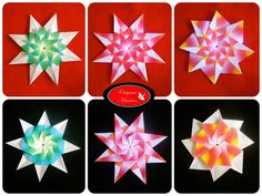 Designed by Ildikó H. Vass Folded by Mariela Recinos Hola amantes del origami. En esta ocasion les traigo esta hermosa estrel...