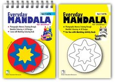 Everyday Mandala for Children.  Curated by https://www.rightbraineducationlibrary.com