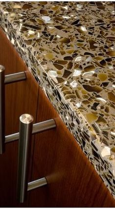 what to consider when buying recycled glass countertops